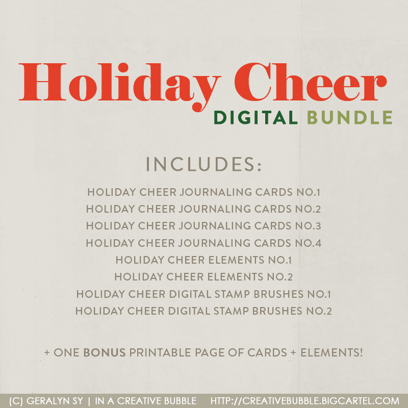 Image of Holiday Cheer Bundle (Digital)