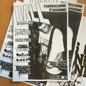 Image of Ball Of Destruction Fanzine #3