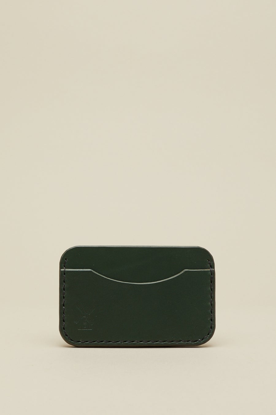 Image of Card Holder in Racing Green