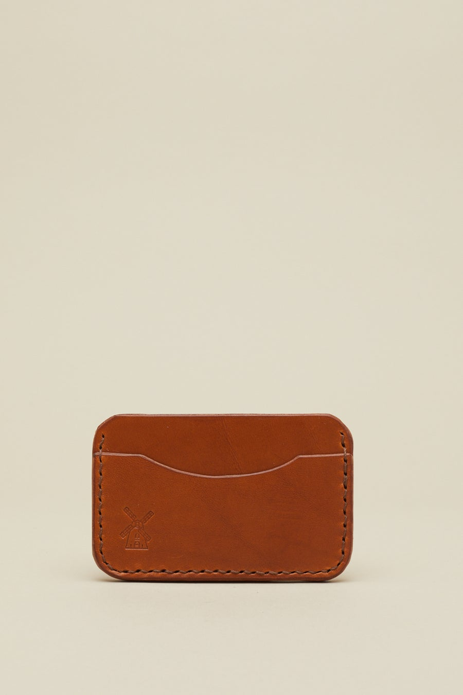 Image of Card Holder in Tan