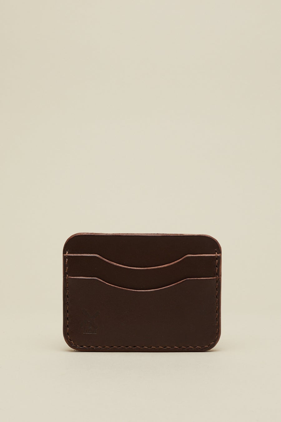 Image of Double Card Holder in Walnut