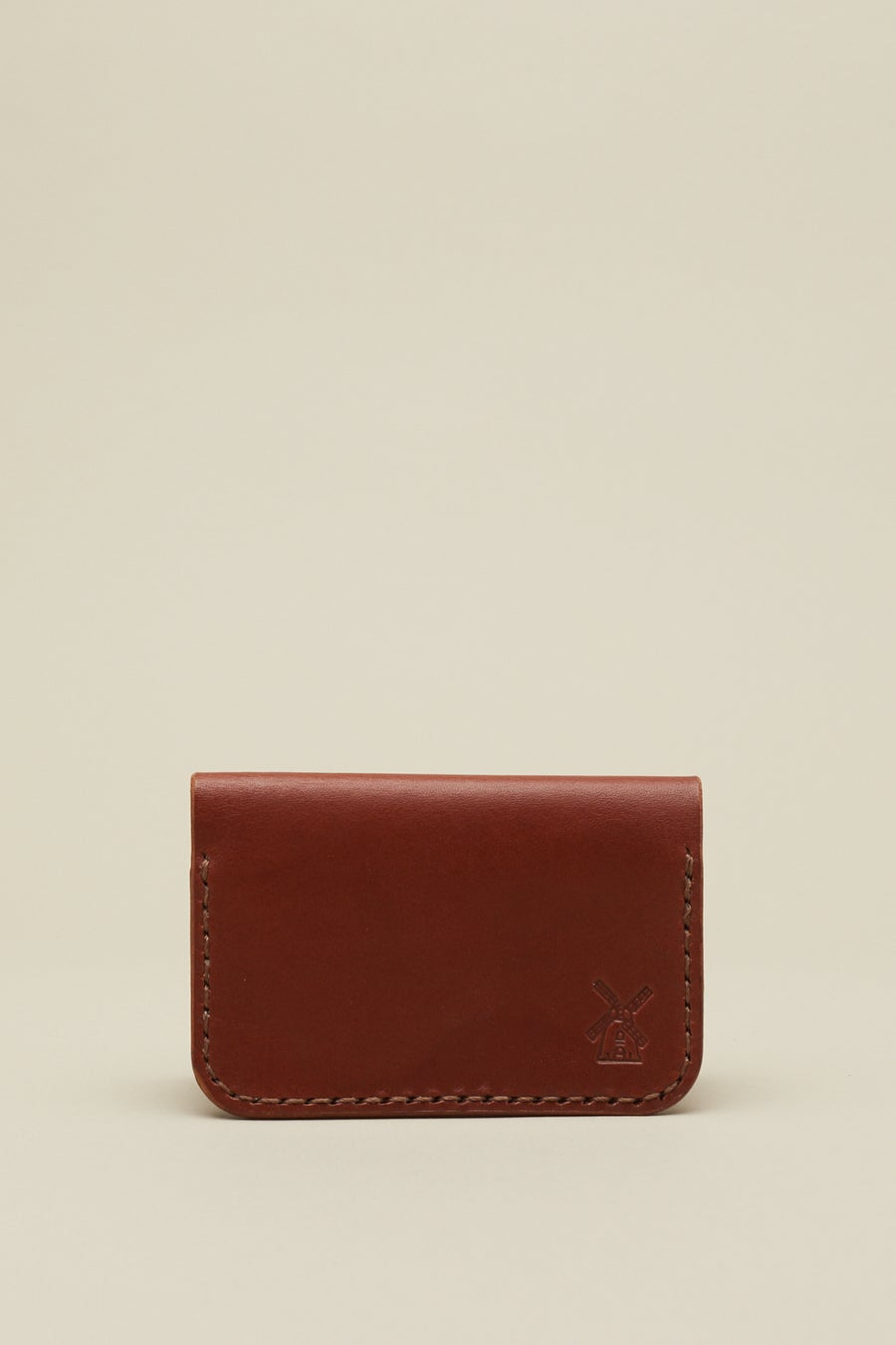 Image of Fold Wallet in Mahogany