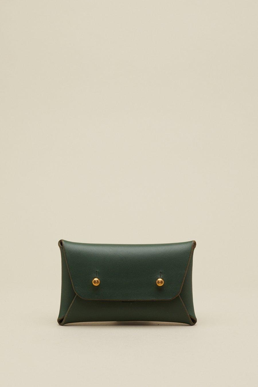 Image of Envelope Wallet in Racing Green