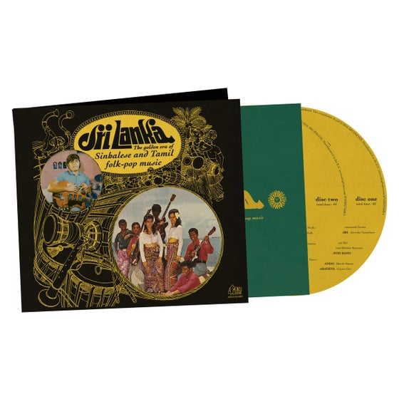 Image of Sri Lanka : The Golden Era of Sinhalese & Tamil Folk-pop Music (AKUCD1003)