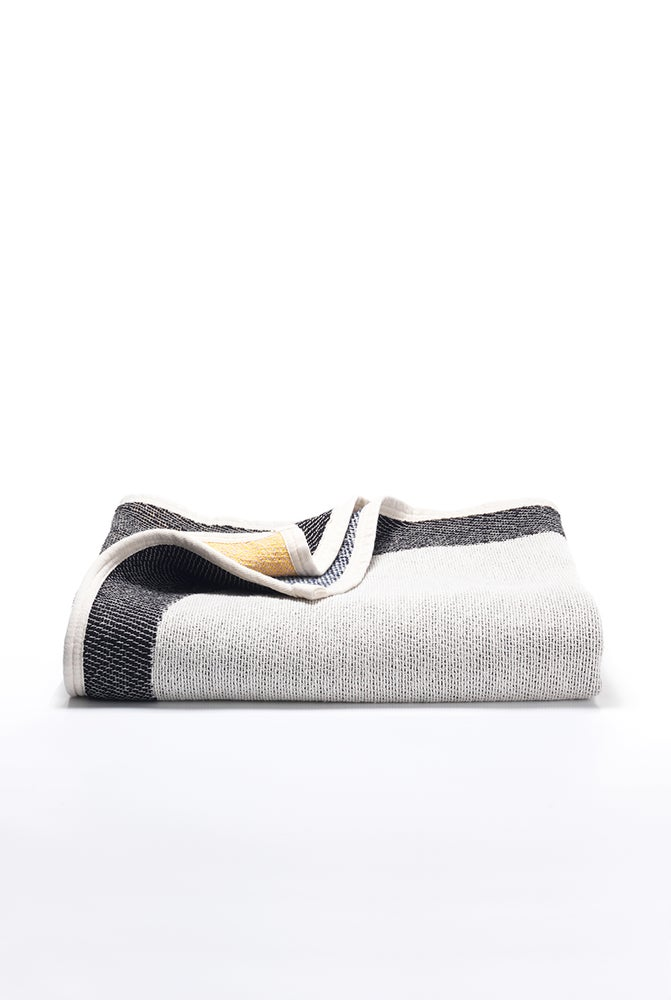 Image of Bauhaused 5 Cotton Blanket by ZigZag Zurich