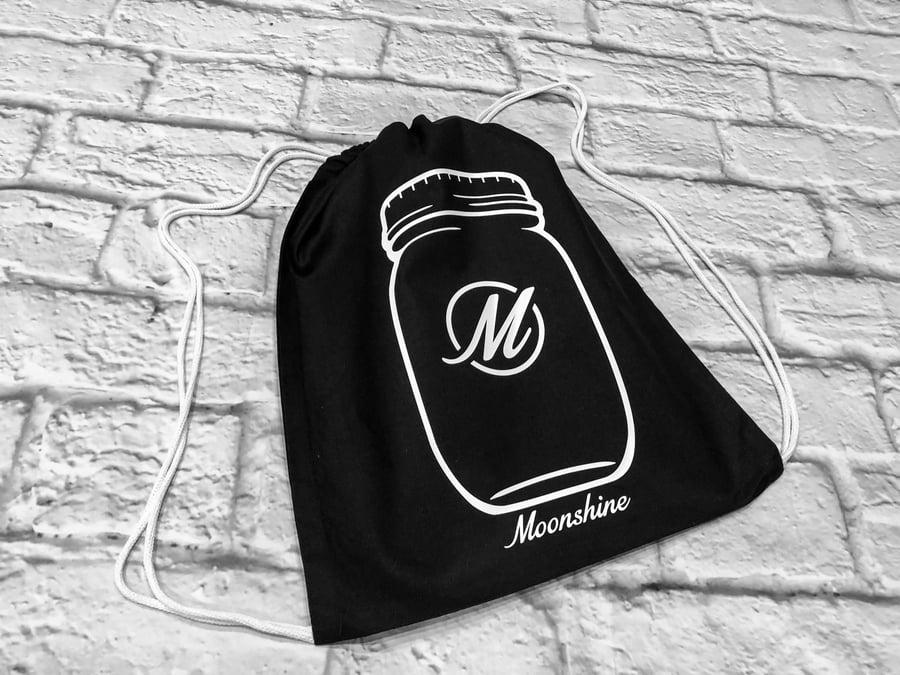 Image of Moonshine Drawstring Bag