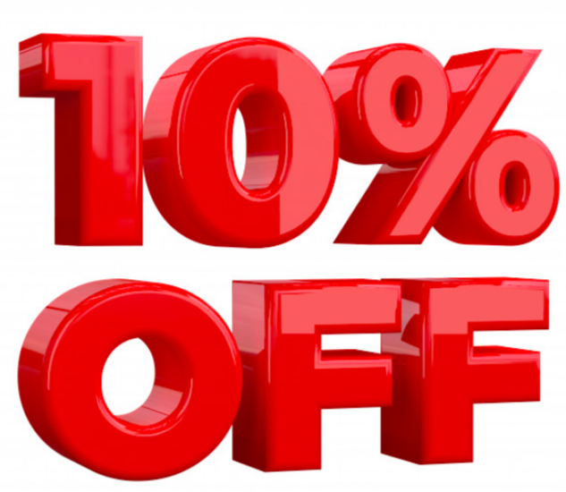 Image of 10% OFF Any purchase