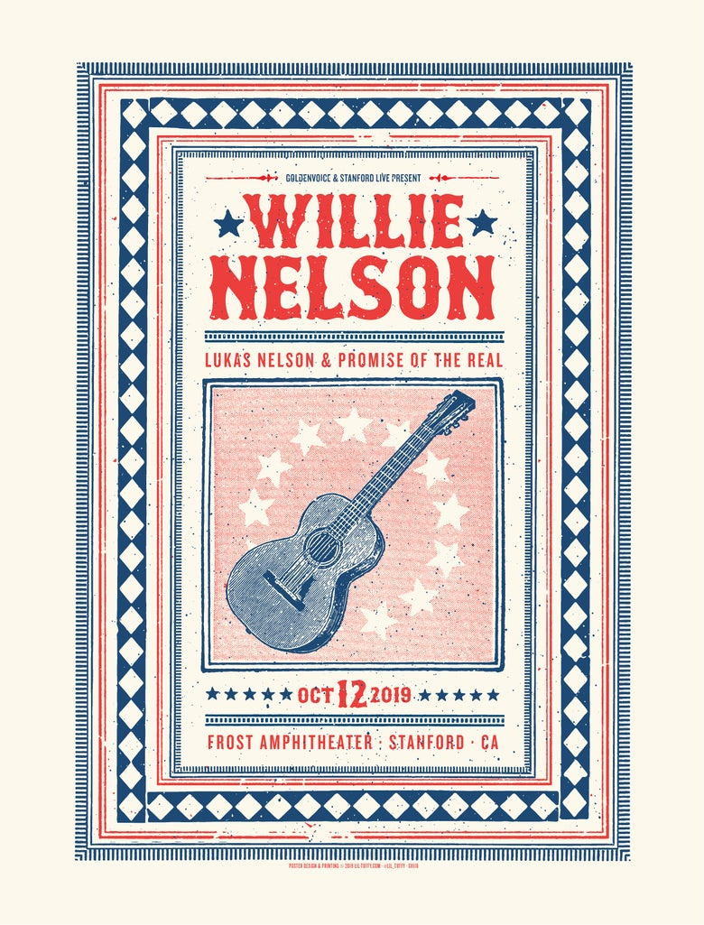 Image of Willie Nelson - Palo Alto 2019