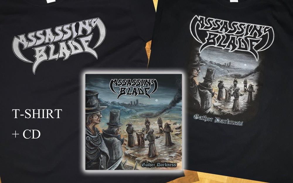 "Image of ""Gather Darkness"" CD + t-shirt bundle"