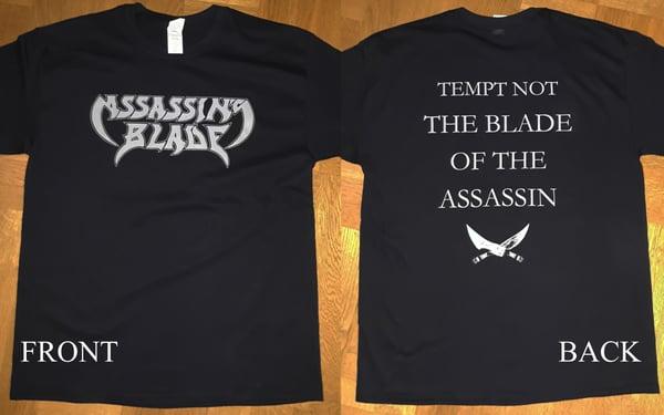 "Image of Logo + ""Tempt Not"" t-shirt"