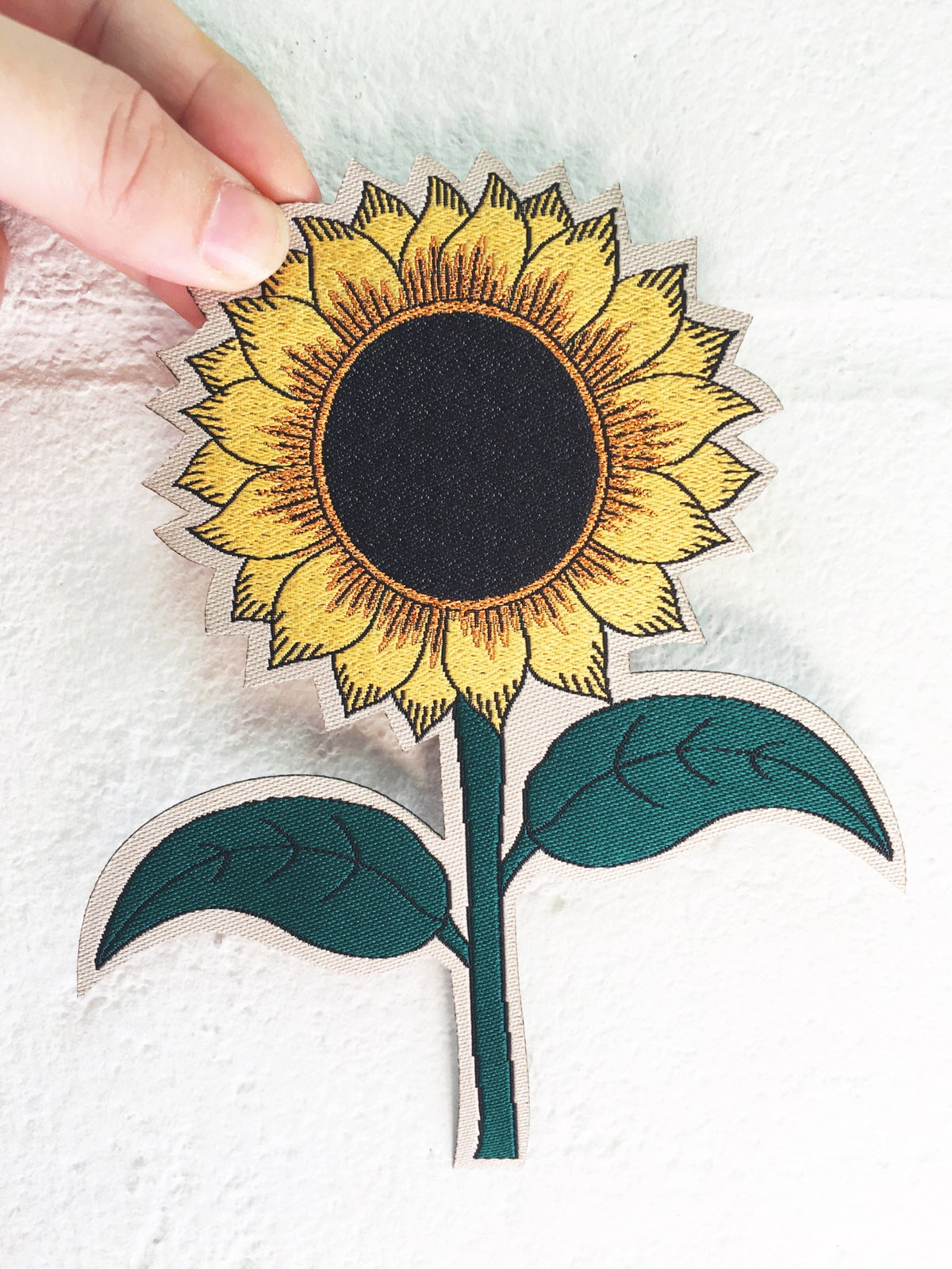 Sunflower Iron on Patch