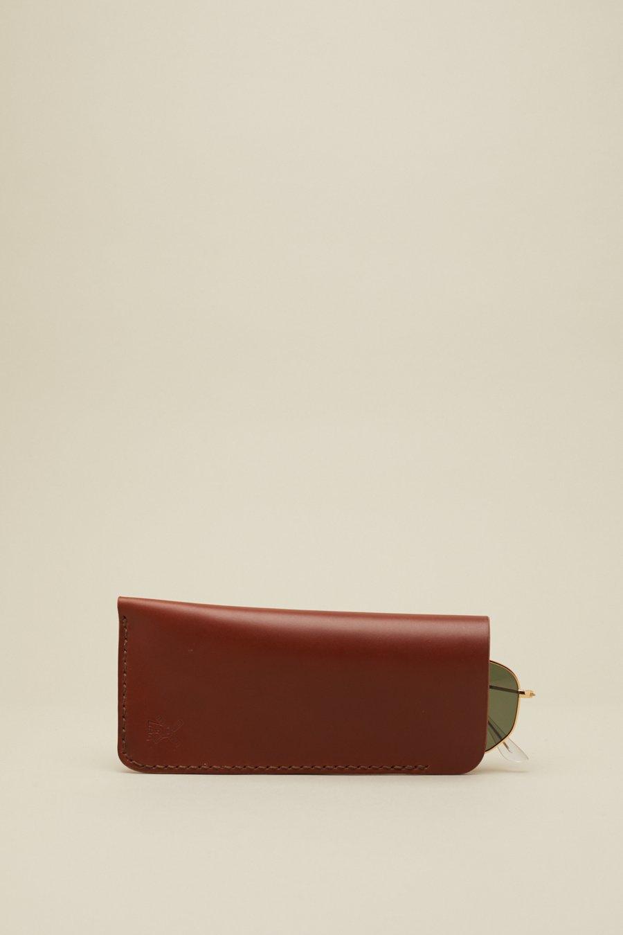 Image of Glasses Slip in Mahogany