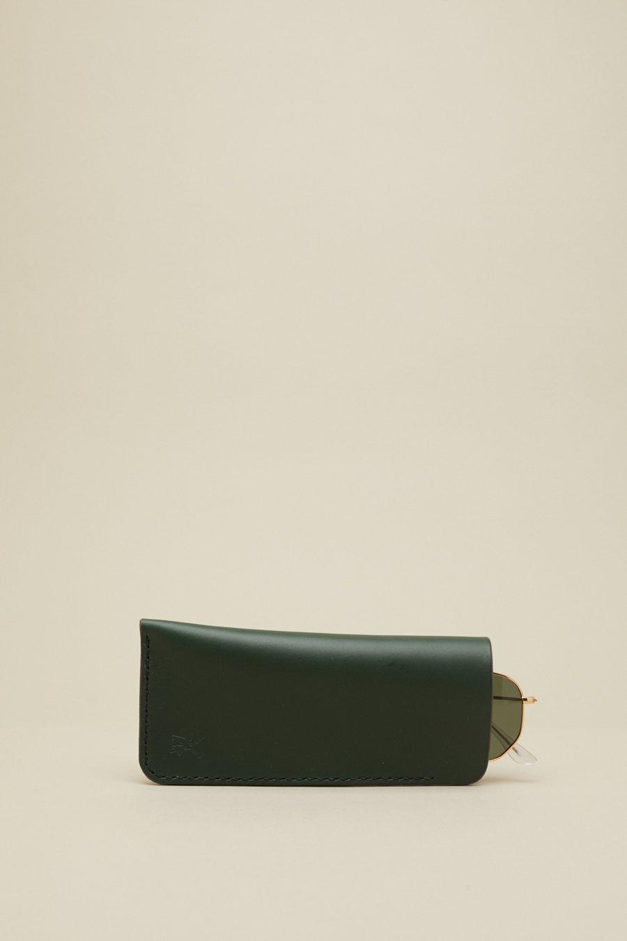 Image of Glasses Slip in Racing Green