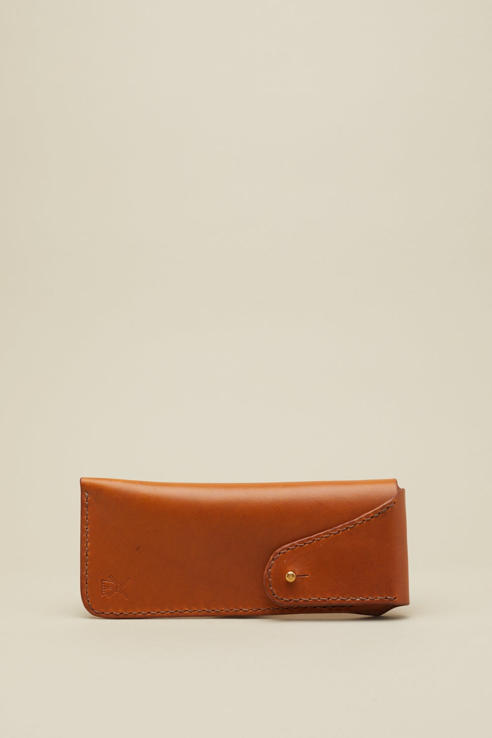Image of Glasses Case in Tan
