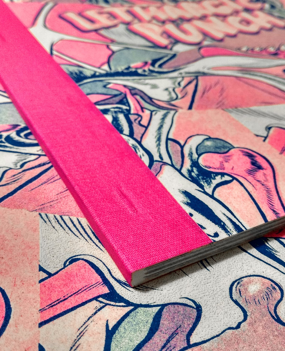 """Image of """"Lethargic Punch"""" Risograph Book"""