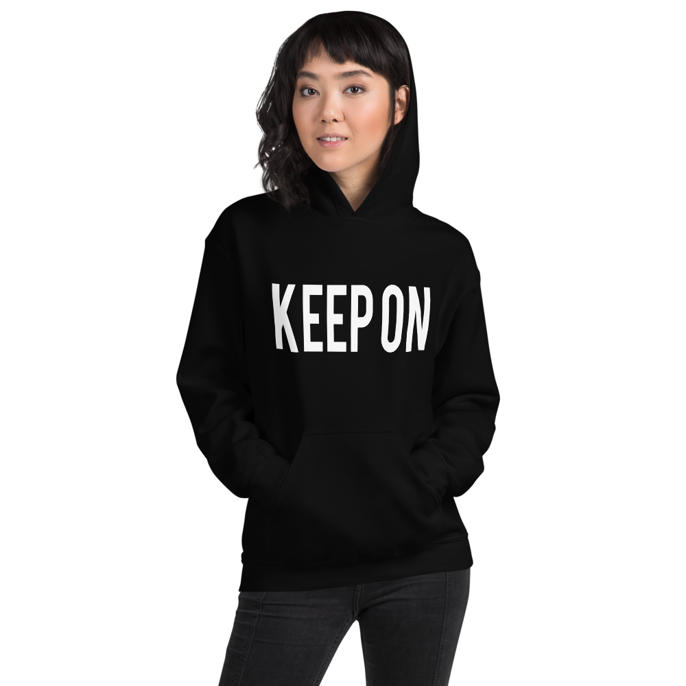 "Image of KEEP ON ""KEEP ON"" Hoodie"
