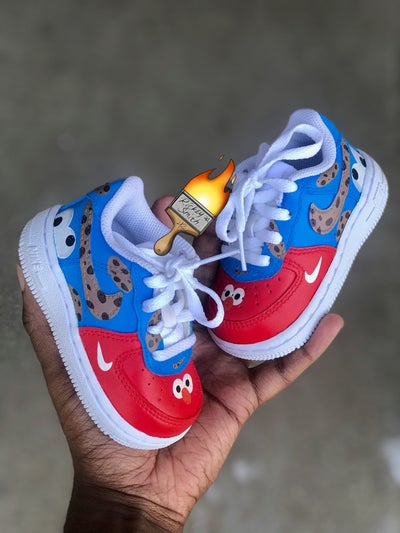 Image of Cookie & Elmo AF1 -