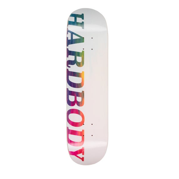 Image of HARDBODY LOGO DECK - RAINBOW