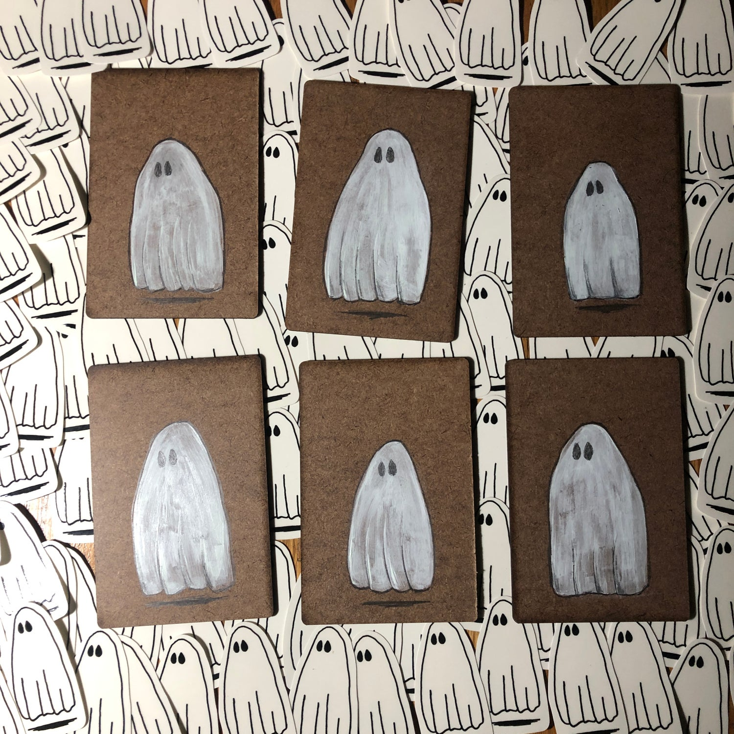 Image of Halloween 2019 - Ghosted Packs