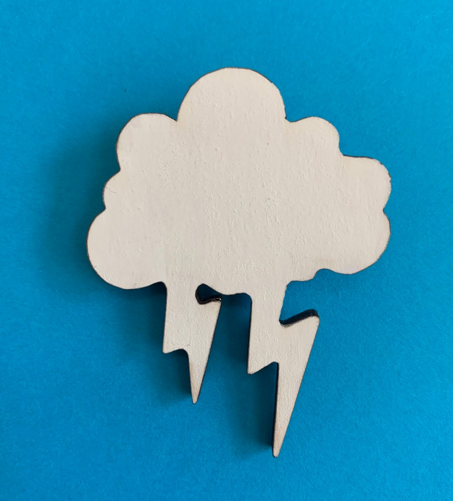 Image of Stormy Wood Pin