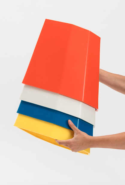 Image of Arnoldino Stool Orange