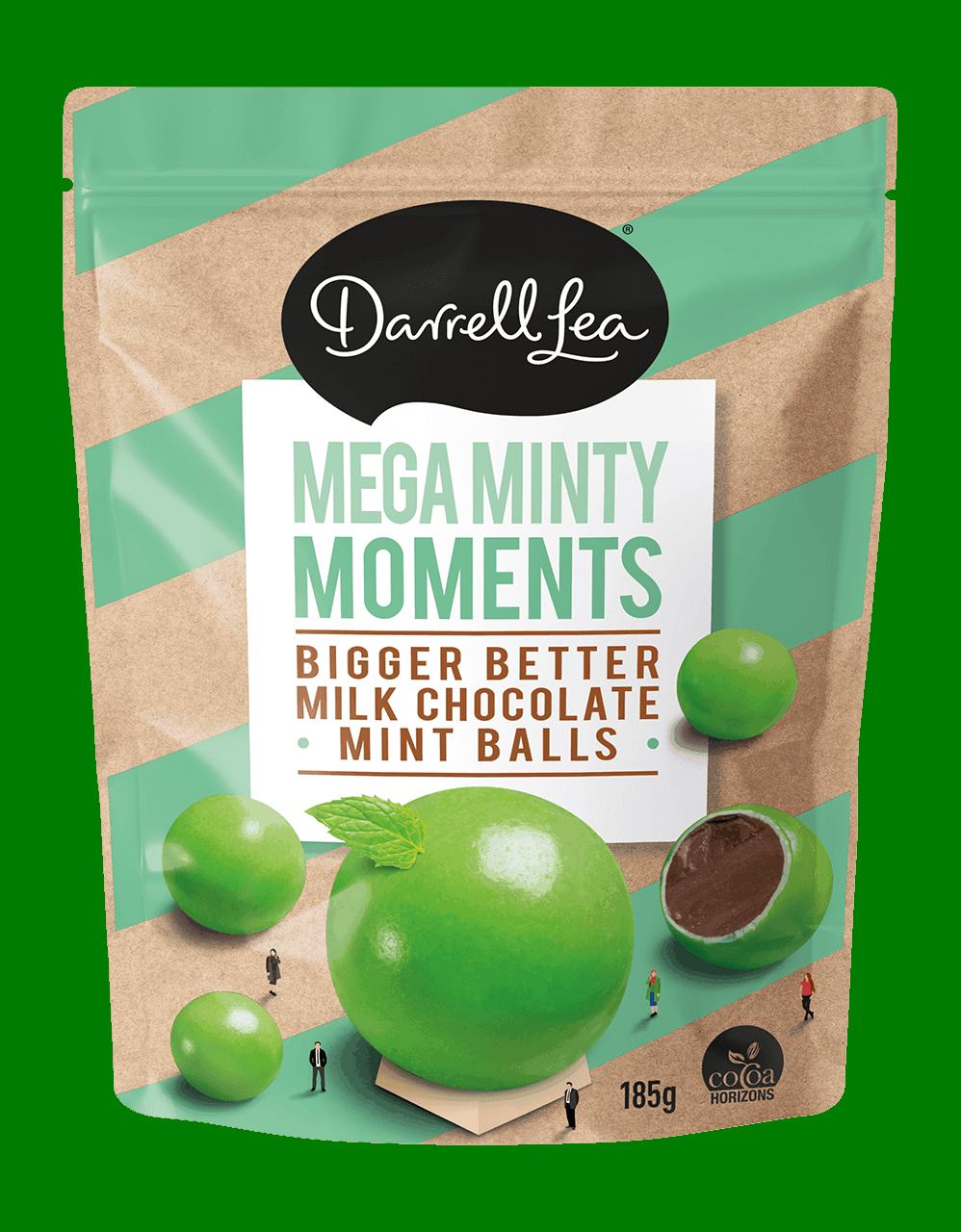 Image of Mega Minty Moments CHOCOLATE BITES 185g