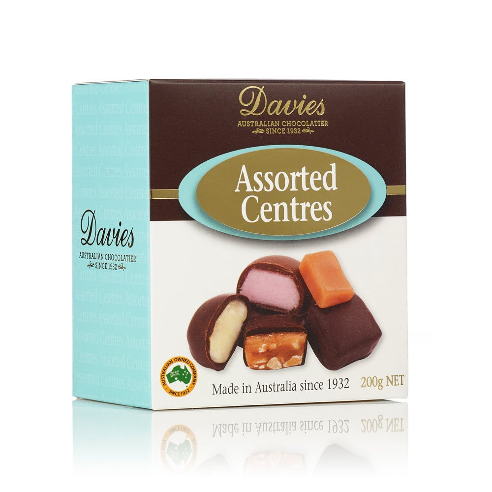 Image of Davies Assorted Centres 200g