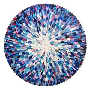 Image of Hyacintho rosea - 76x76cm