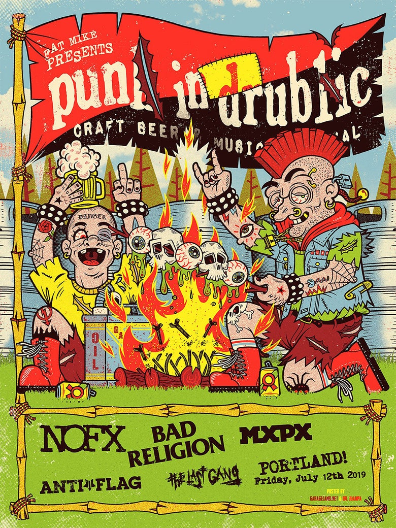 Image of Camp Punk in Drublic 2019 Poster (Regular)