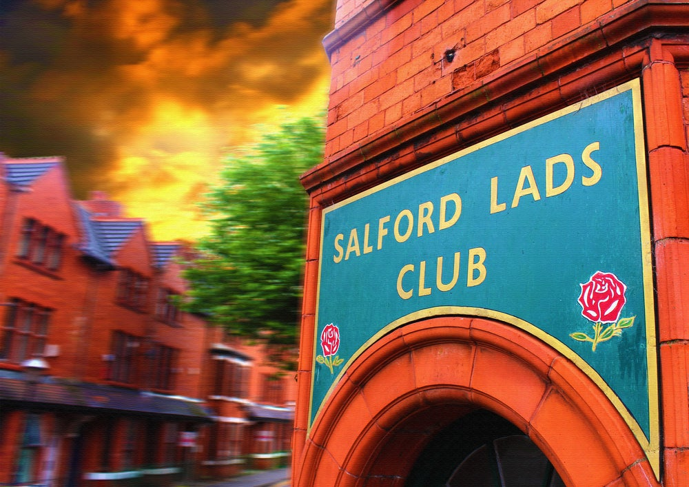 Image of Salford Lads Club (Limited Edition Print)