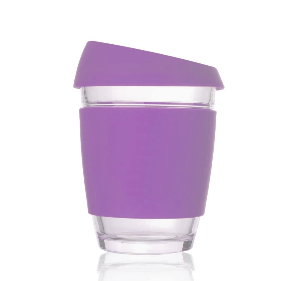 Image of 12oz Purple - Wave Glass