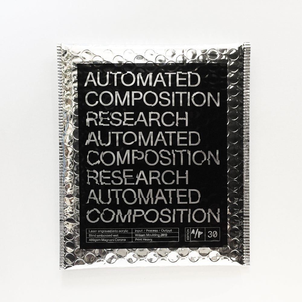 Image of Automated Composition Research Folio