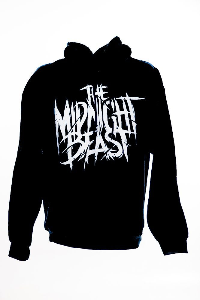 Image of THE MIDNIGHT BEAST BLACK HOODIE (Limited Edition!)