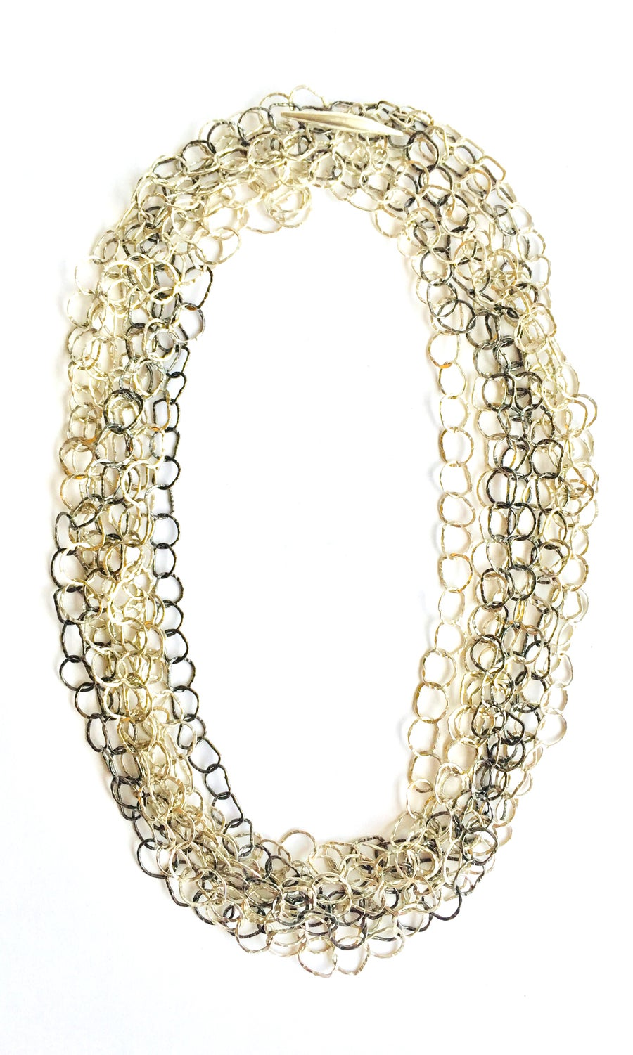 Image of Afiok necklace treble length - One of a kind