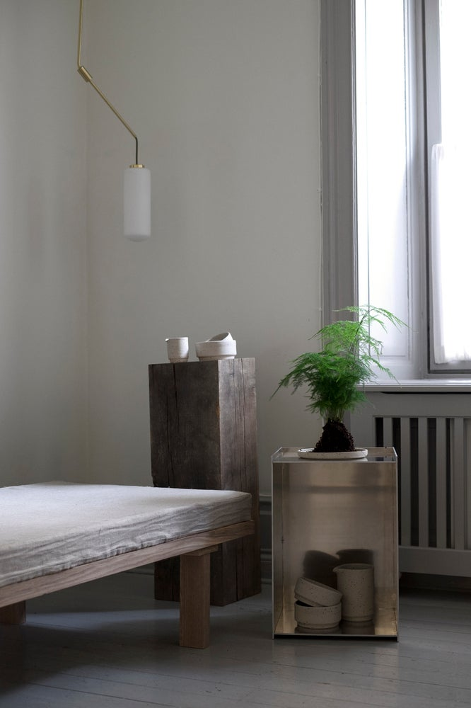 Image of Rivet box table by Frama