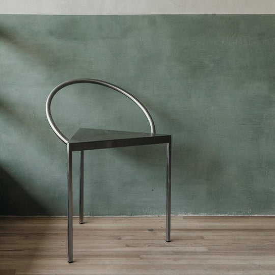 Image of Triangolo chair (black) by Frama