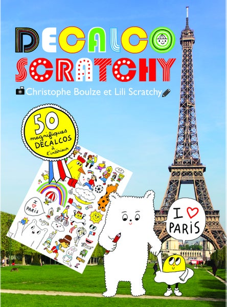 Image of Decalcoscratchy Paris