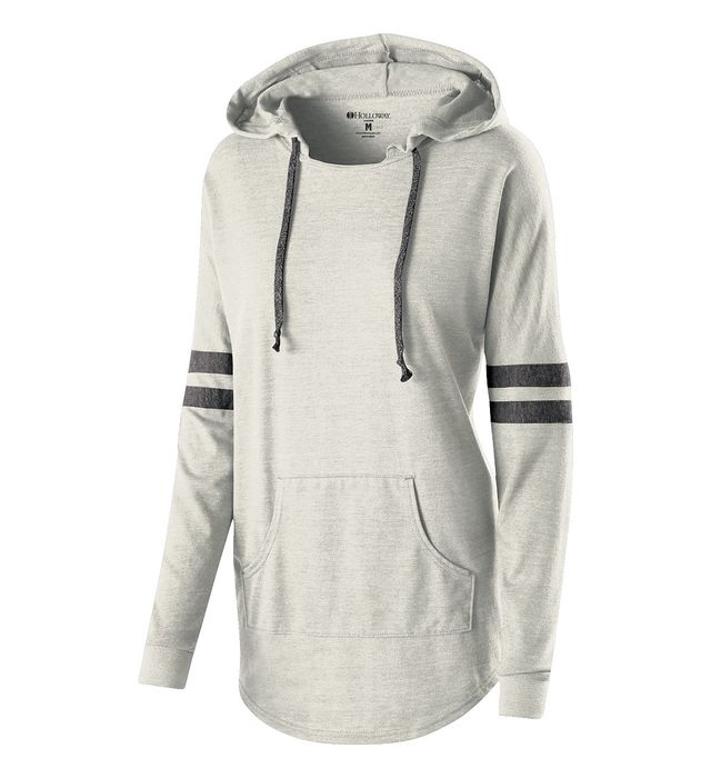 Image of LADIES HOODED LOW KEY PULLOVER