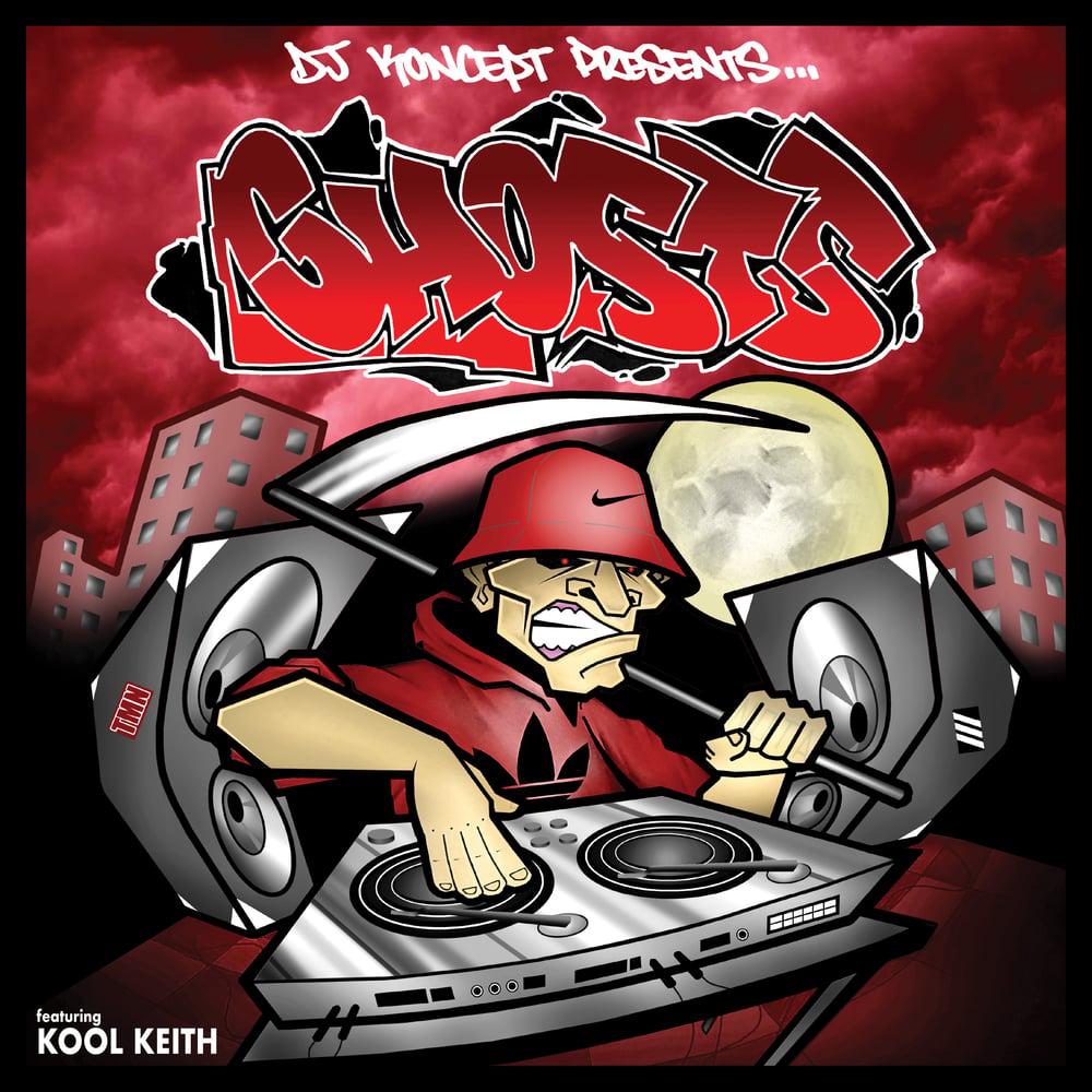 "Image of 12"" Vinyl - DJ Koncept Presents GHOSTS (VC001)"