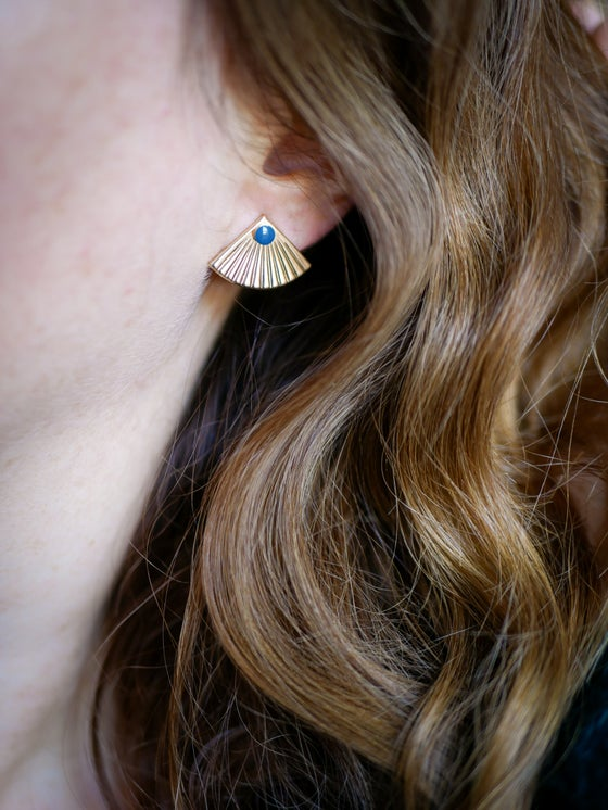 Image of Boucles Puces ISSEY - 4 Coloris