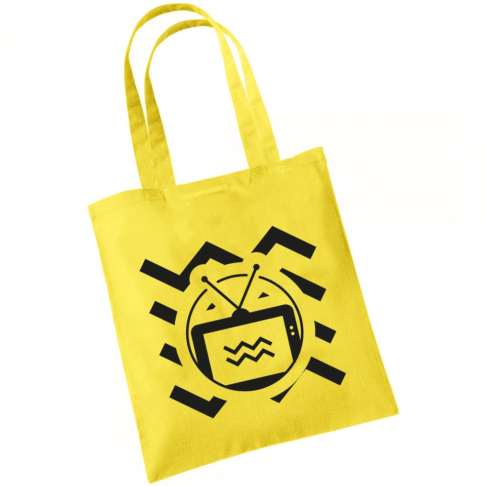 Image of TENEMENT TV YELLOW TOTE BAG