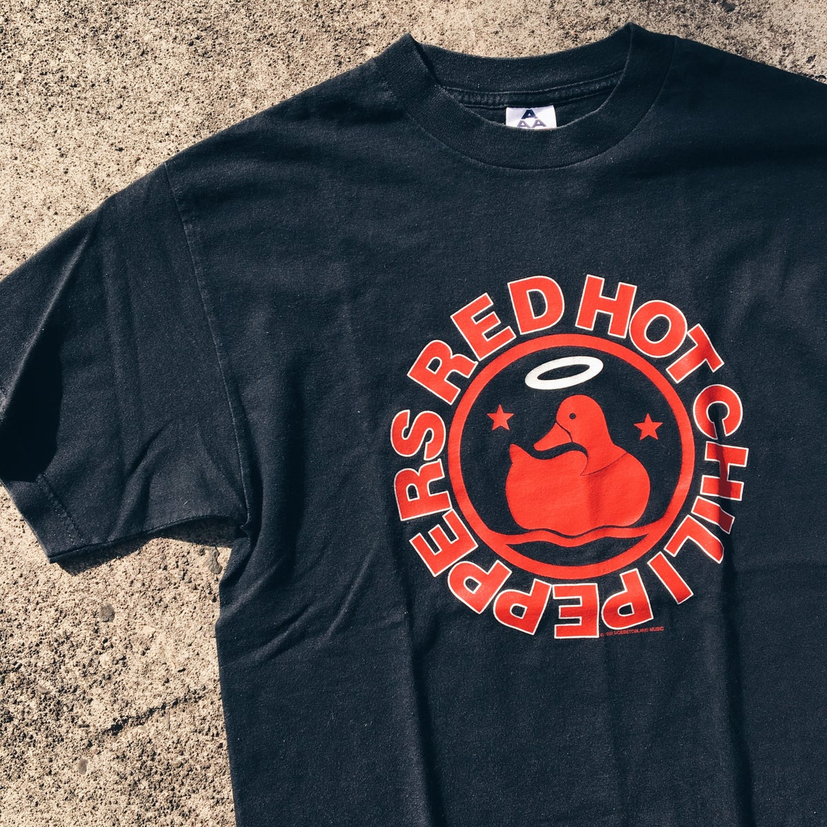 Image of Original 1998 Red Hot Chili Peppers Californication Tee.