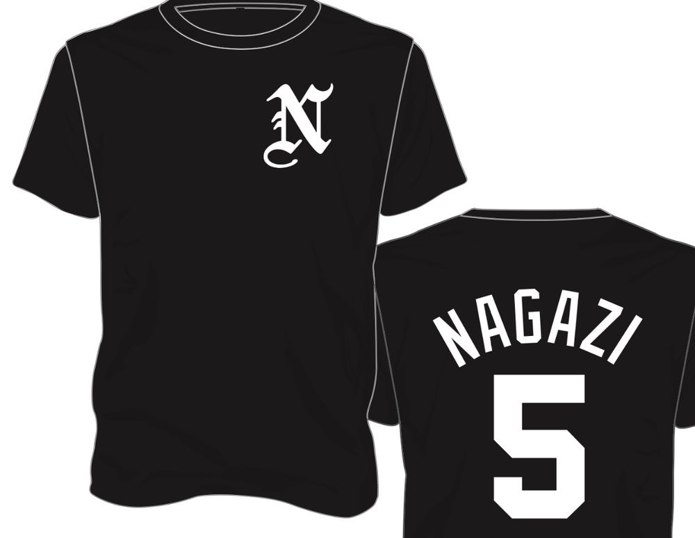 Image of Jersey 5 T (Black or Grey)