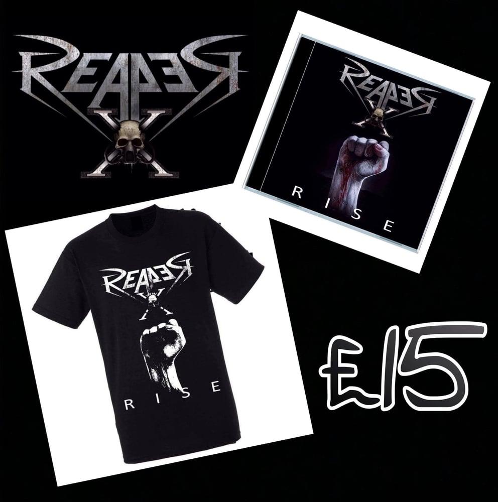 Image of Rise Album T-Shirt Bundle