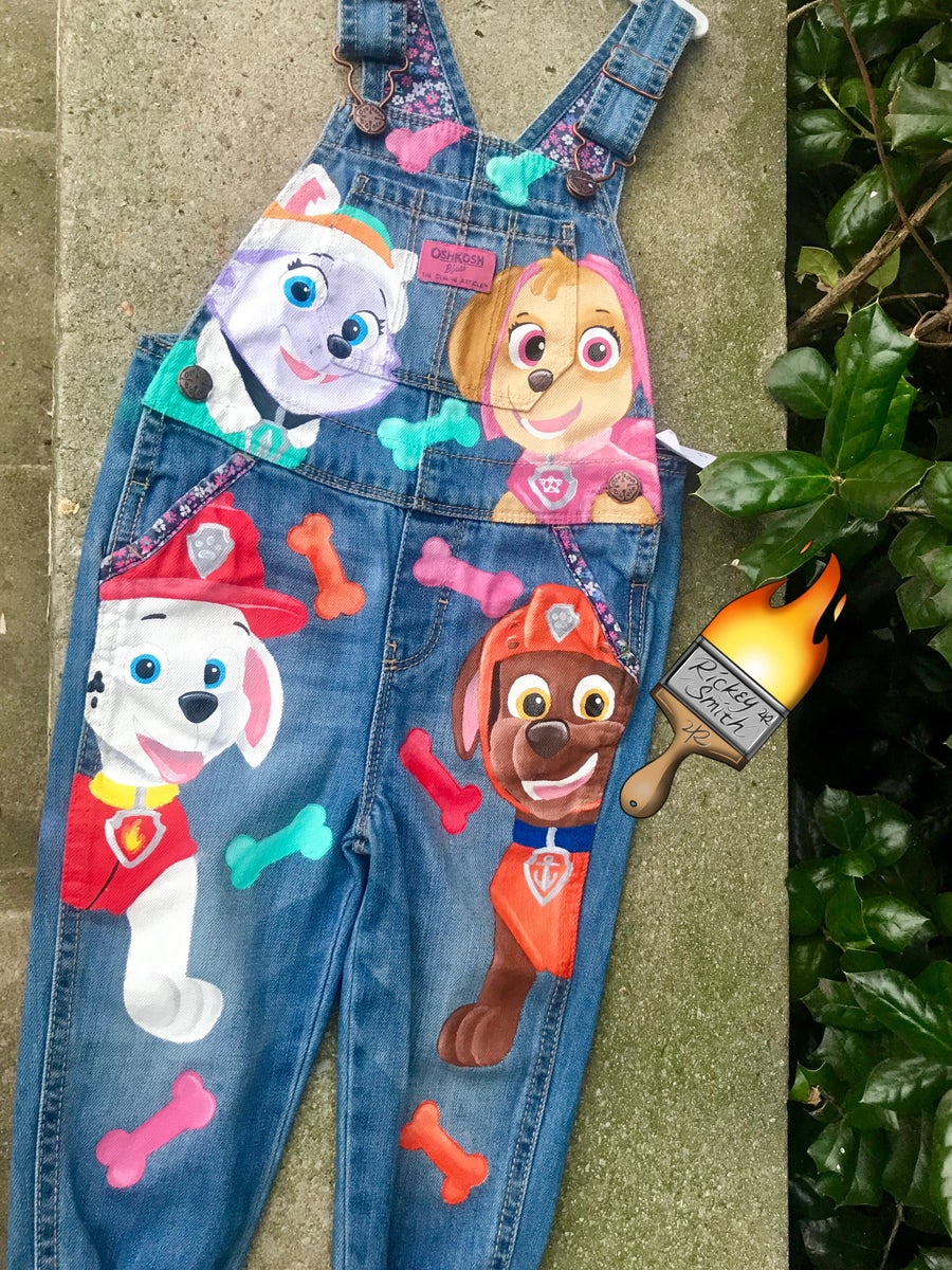 Image of Paw Patrol Toddler Overalls -