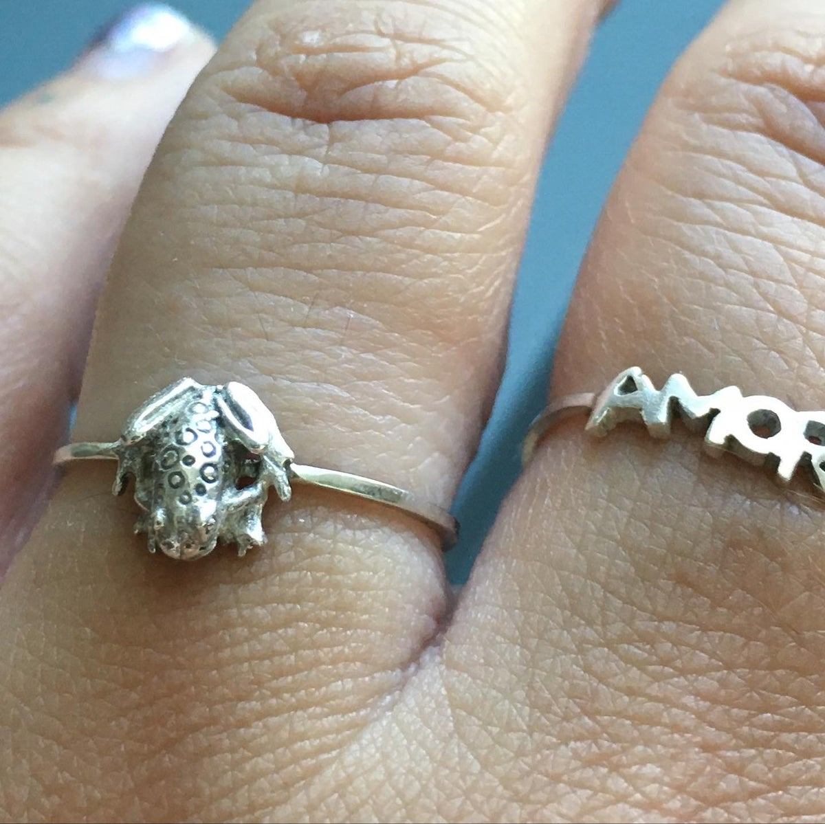 Image of Little frog ring