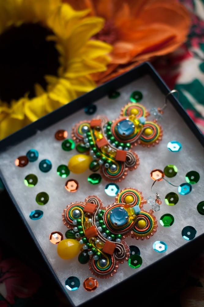 Image of Steady Earrings - Shona