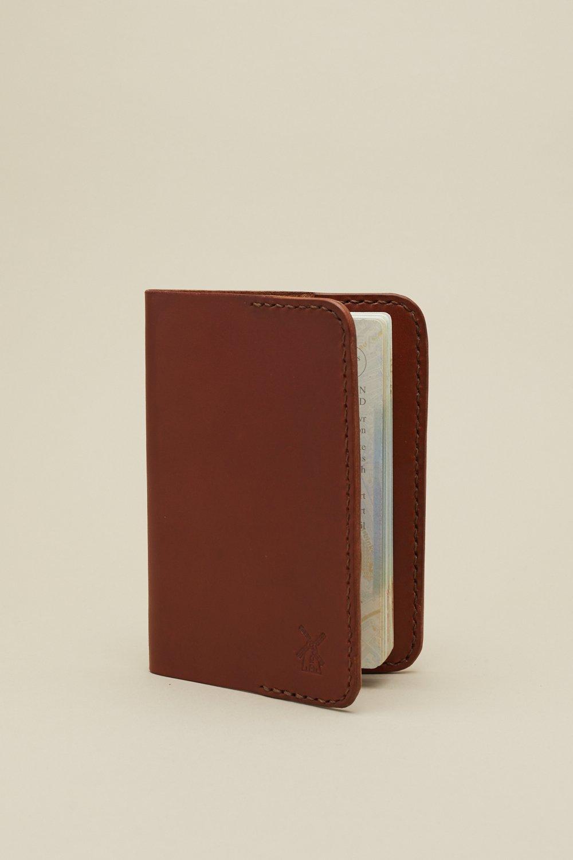 Image of Passport Case in Mahogany