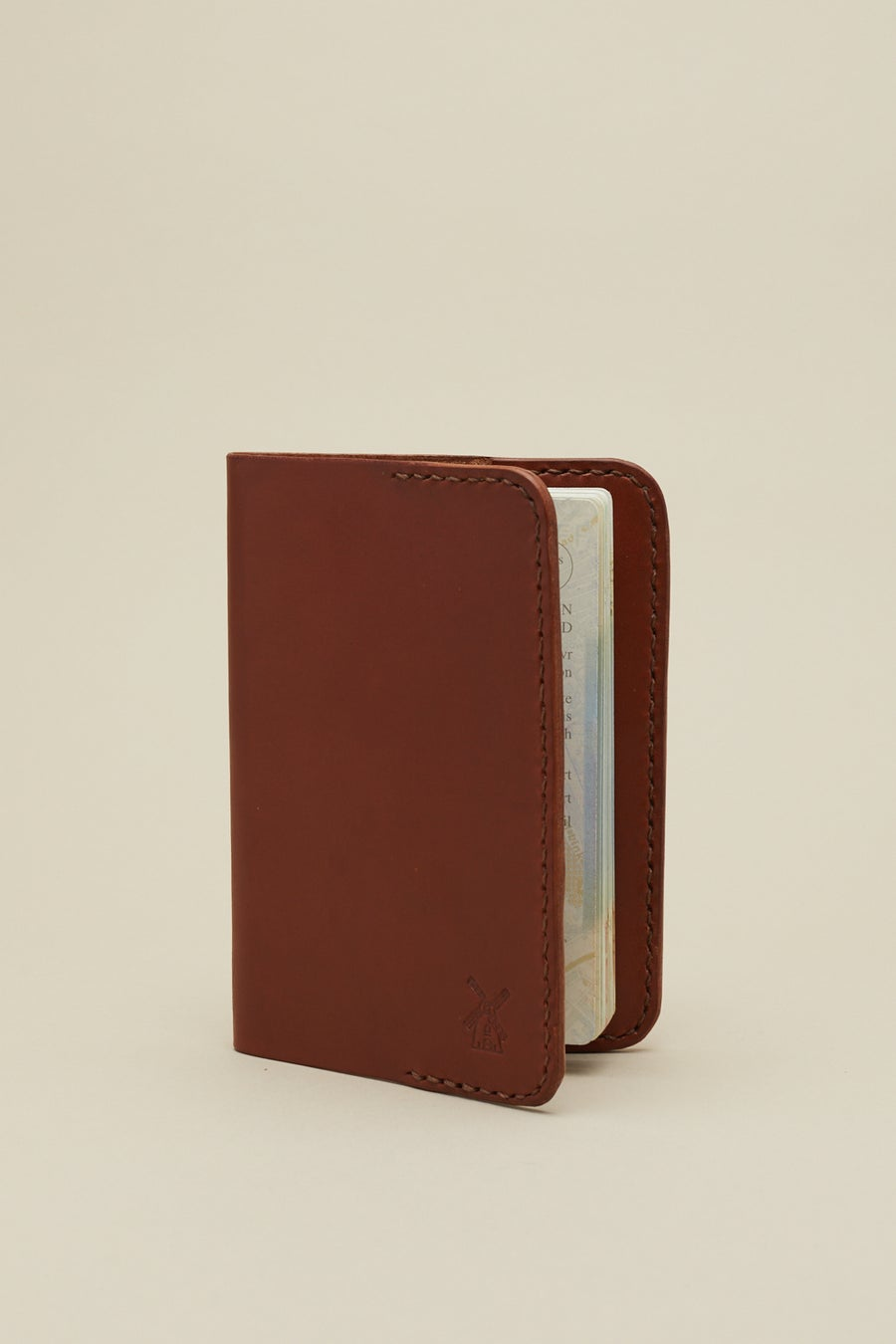 Image of Passport Case in Mahogany
