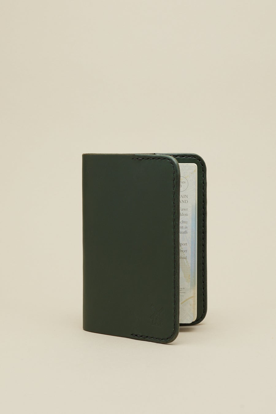Image of Passport Case in Racing Green